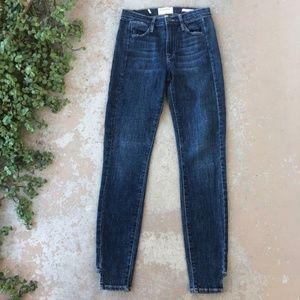 FRAME Denim Le High Step Hem Skinny Jeans